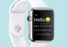 flicktype tastiera qwerty per apple watch