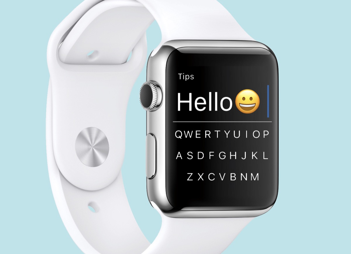 flicktype tastiera qwerty per apple watch