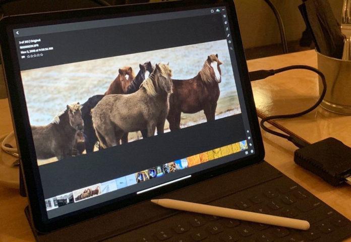 Il nuovo iPad Pro gestisce senza problemi immagini da 100 megapixel