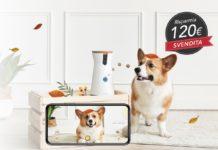 Furbo, pet camera con distributore di croccantini: per il Blackl Friday 139 euro