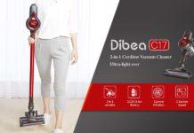 Dibea C17, l'aspirapolvere wireless più economico di sempre: solo 70 euro