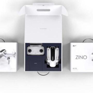 Hubsan Zino, il drone 4K anti DJI Mavic è in pre ordine a 350 euro