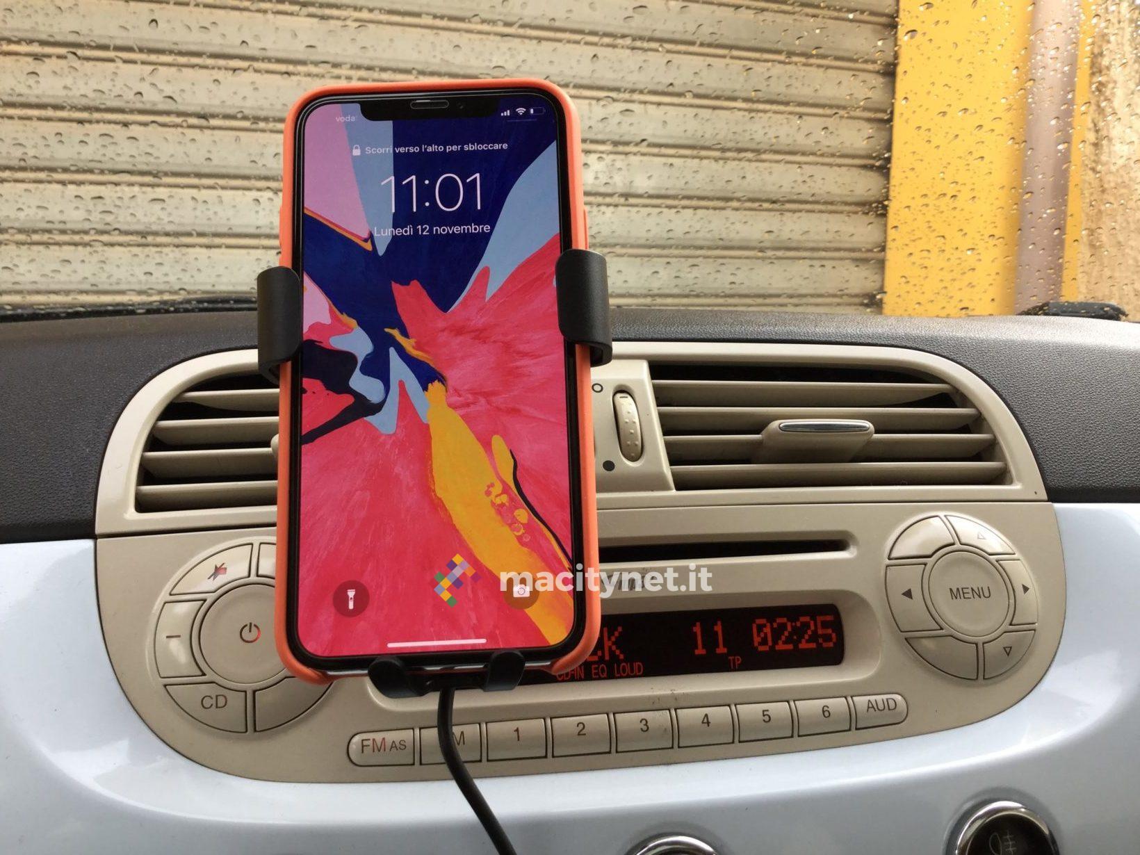 Recensione caricabatterie wireless Choetech, da tavolo e da auto