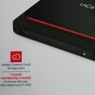 LaCie Portable SSD, minidisco SSD con USB-C