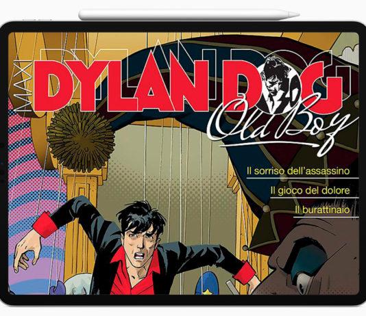 iPad Pro nelle mani di Dylan Dog