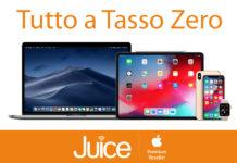 Da Juice tutto Apple a Tasso Zero, anche per iPhone XS e XR