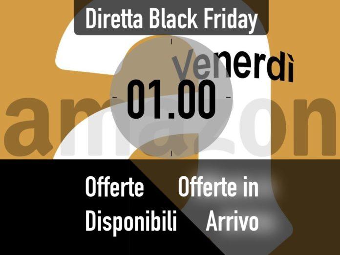 Offerte Lampo del Black Friday Amazon delle ore 01.00