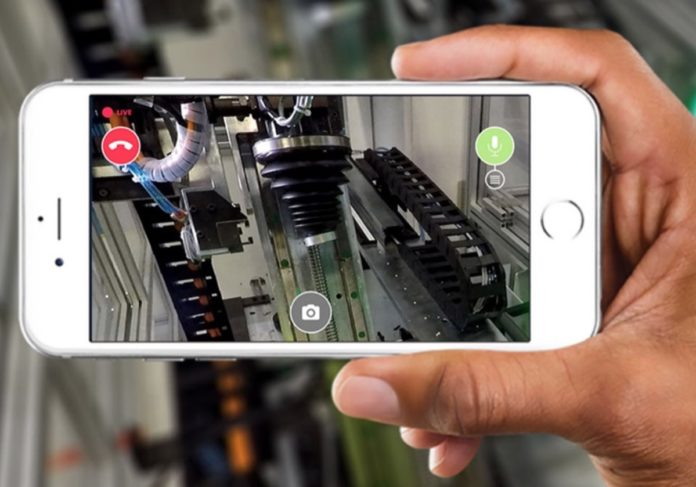 Livemote, l'app per le operazioni di manutenzione in Realtà Aumentata