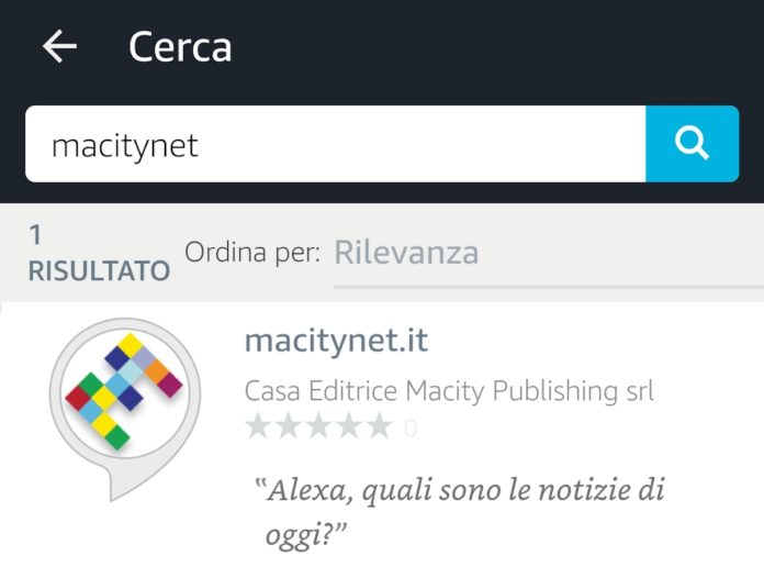 Macitynet è su Alexa: il sommario da ascoltare con un comando vocale su Echo e App