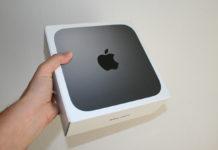 La scatola nella quale arriva il Mac mini 2018