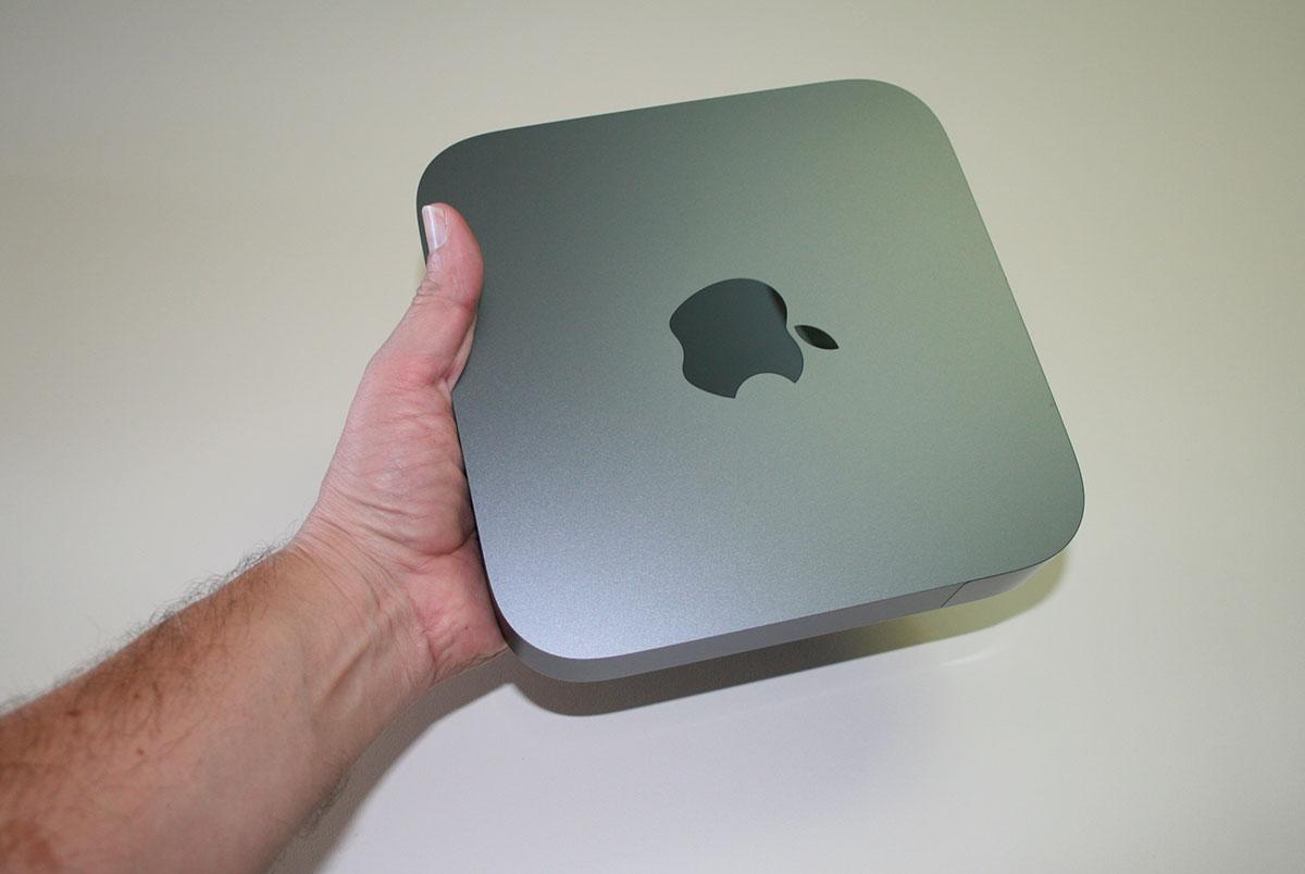 Il Mac mini è 2018 piccolo (volendo anche