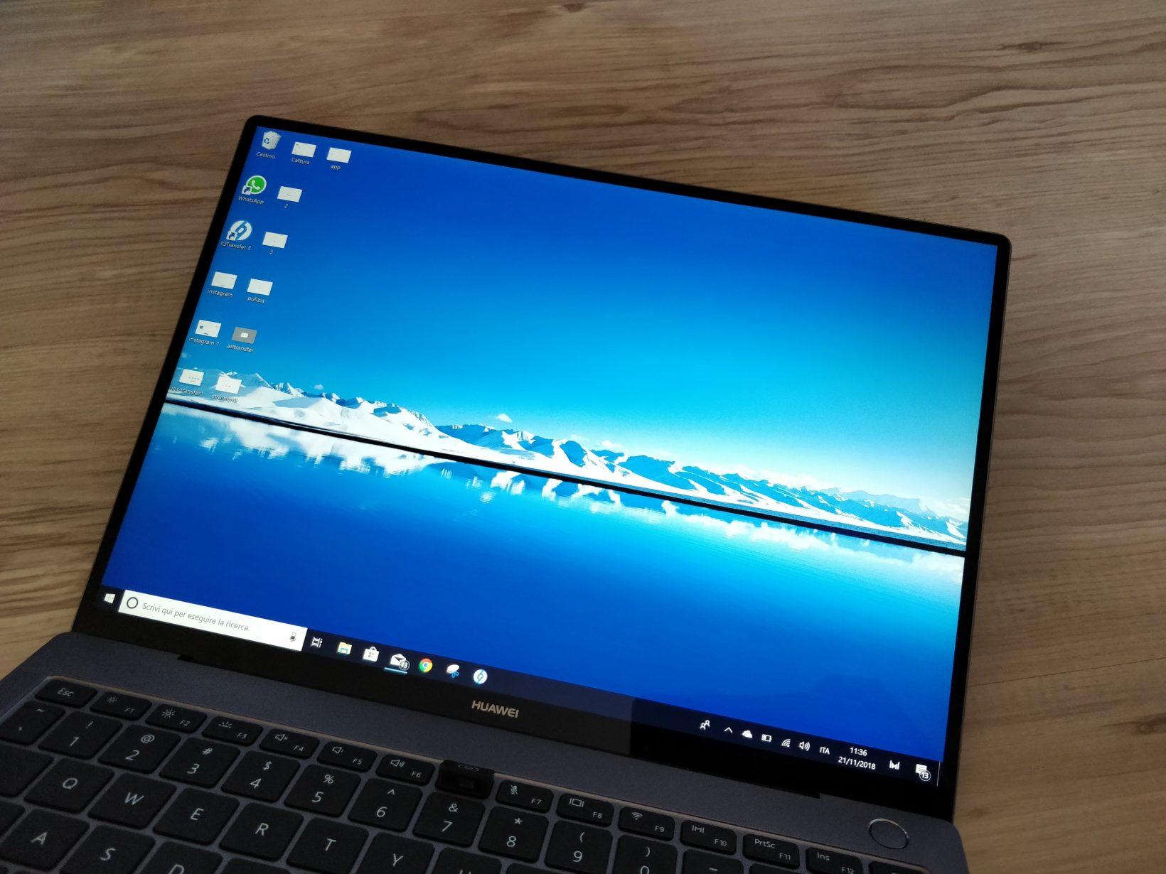 Recensione Huawei Matebook X Pro