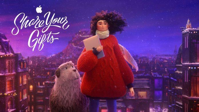 Apple in clima natalizio, ecco la pubblicità dedicata