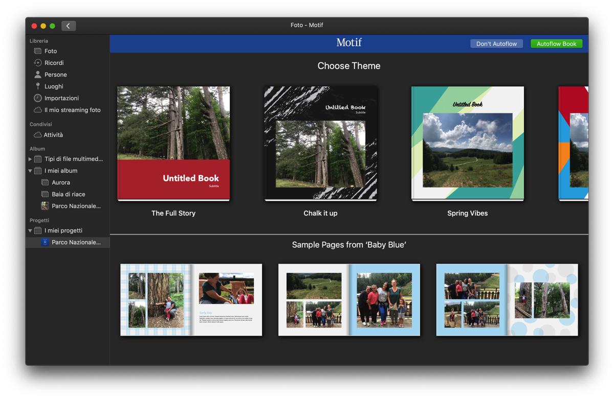 Motif, l'ex servizio di stampa foto Apple ora disponibile in Italia