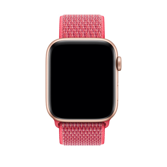 Sport Loop (PRODUCT)RED è il nuoco cinturino Apple Watch 4