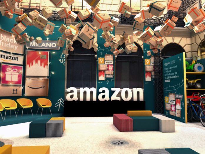 Amazon Loft for Xmas, gli appuntamenti da non perdere nel negozio Amazon di Milano