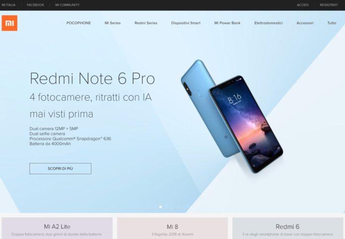 Mi.com, il negozio Xiaomi in Italia apre martedì 20 novembre