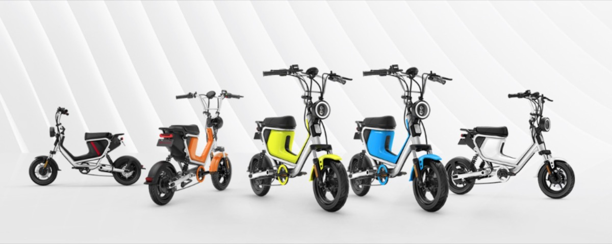 NIU U-Mini, lo scooter elettrico Smart che sembra un Garelli