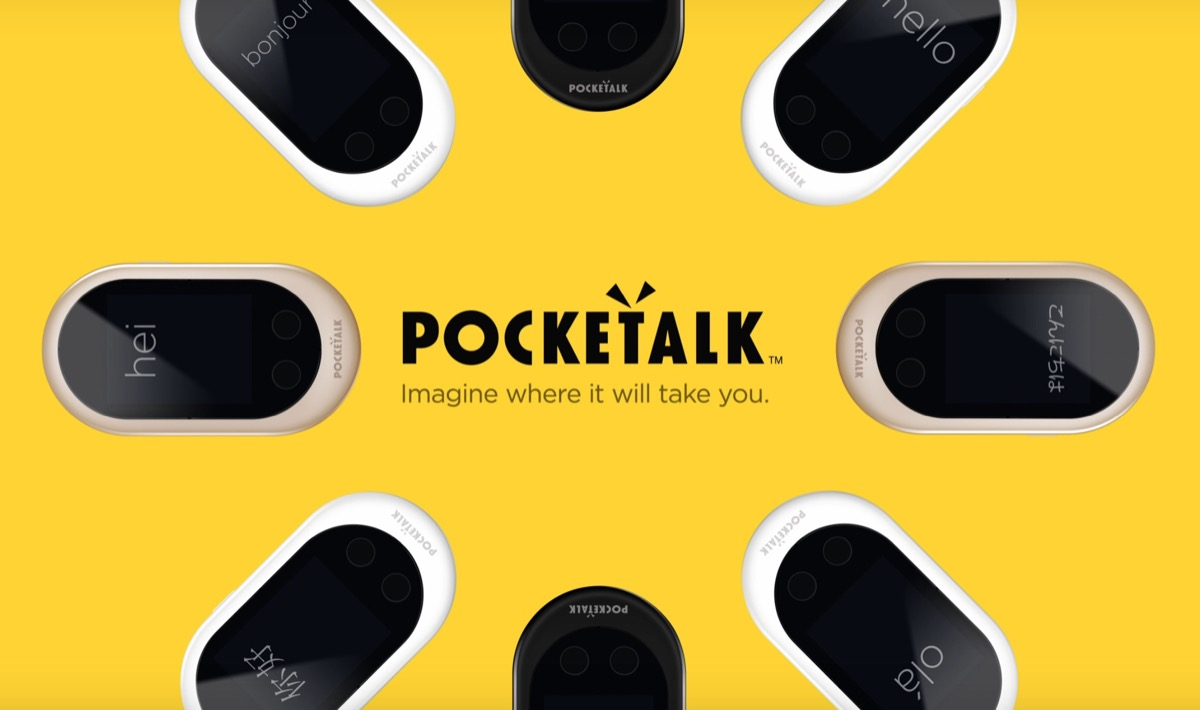 Pocketalk, il traduttore portatile per parlare tutte le lingue