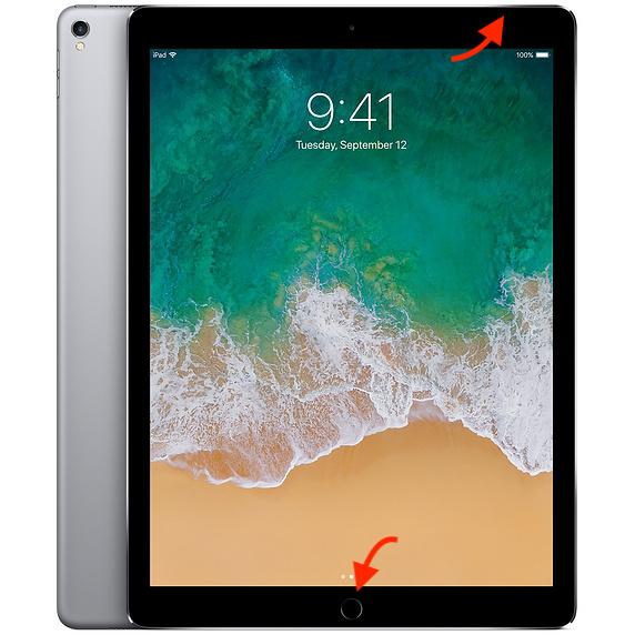 Come fare screenshot su iPad Pro 2018 e precedenti