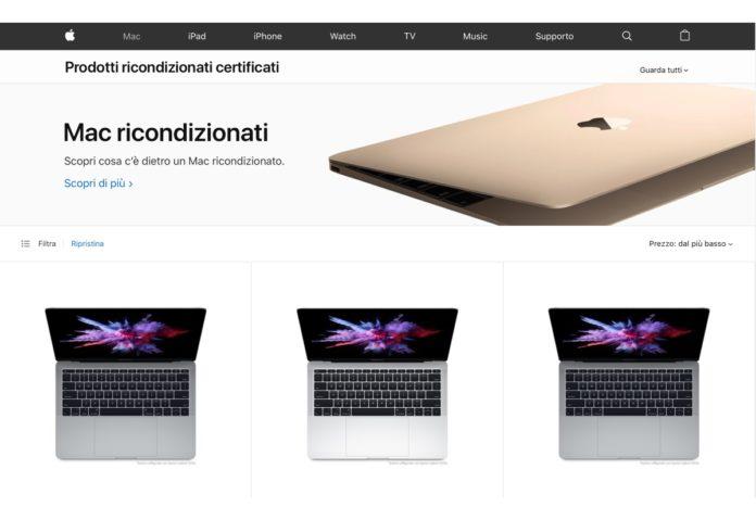 meilleur prix mode de vente chaude handicaps structurels Apple rinnova il negozio Prodotti ricondizionati per Mac ...