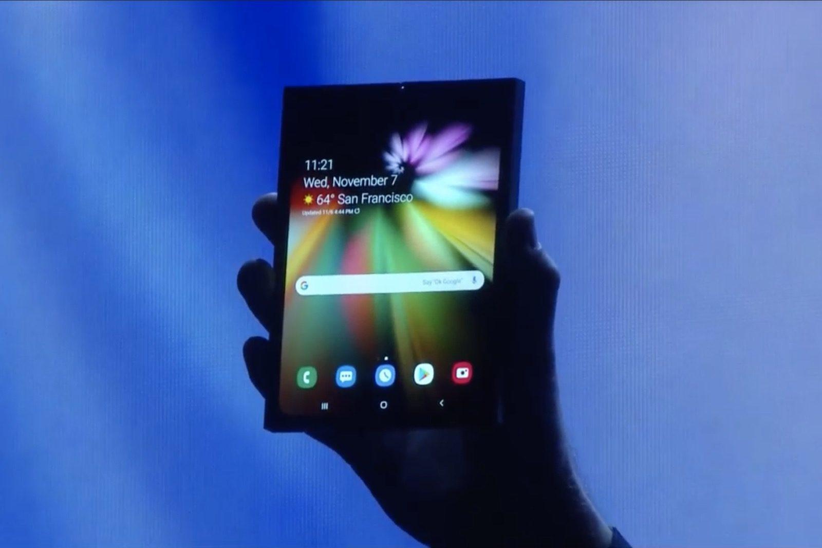 Ecco il segreto dello smartphone pieghevole che Samsung (non) ha presentato