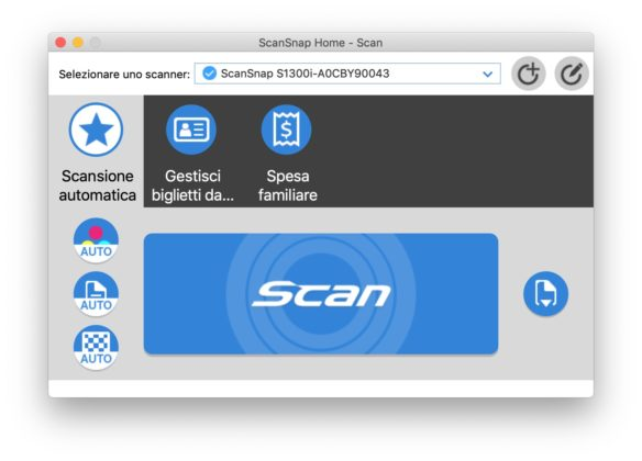 Recensione ScanSnap S1300i