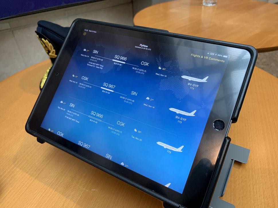 Singapore Airlines sfrutta gli iPad per offrire servizi a piloti e personale di bordo