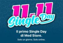 Solo un giorno, solo online: arriva il Single Day,  Med Store sconta fino al 60%