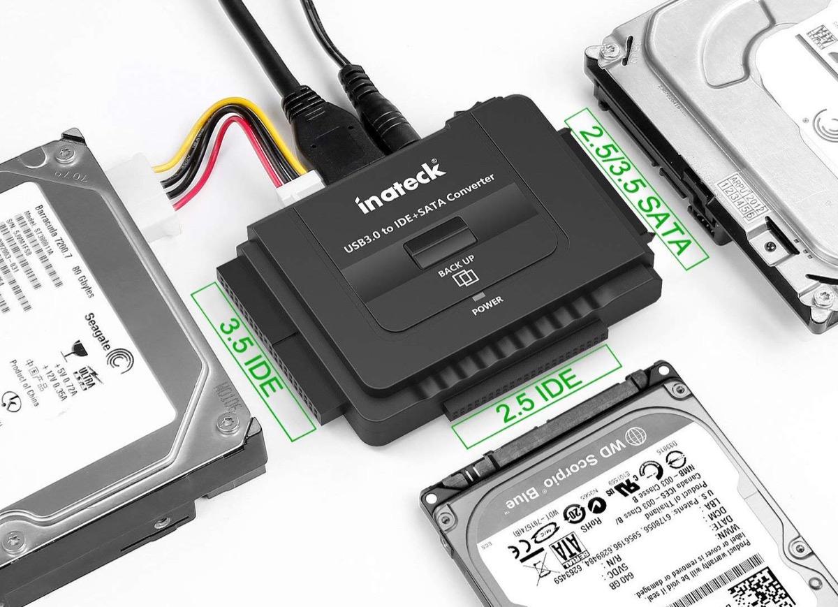 Trasformare HDD e SSD in dischi USB: accessori Inateck in sconto da 8,79 euro