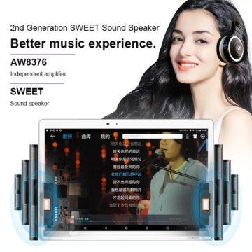 Teclast T20, tablet 10'' con 4G e sensore per le impronte digitali a soli 180 euro