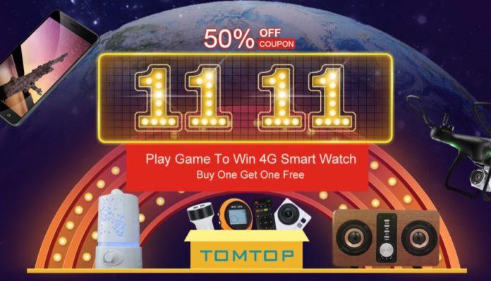TomTop sconta tutto fino al 50%: partiti i saldi di Novembre
