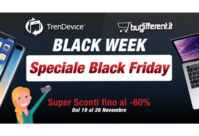 Speciale Black Friday TrenDevice e BuyDifferent: Super Sconti fino al -60% e fino ad esaurimento scorte!