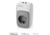 Presa smart Vocolinc PM5  con 2 porte USB: compatibile Homekit, Alexa e Assistente Google