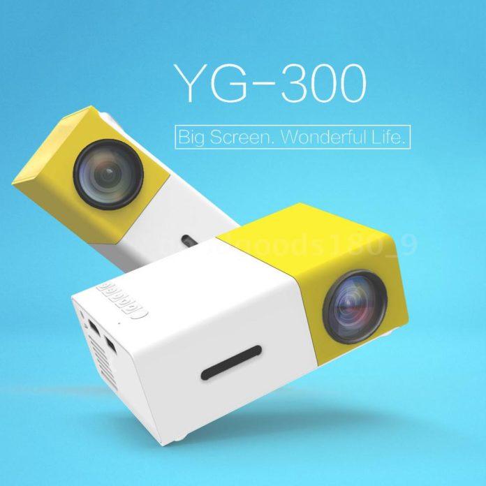 YG300 , il proiettore portatile che sta nel pampo di una mano in offerta a 32 euro su eBay
