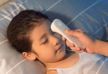 Solo 17 euro: termometro smart a infrarossi Xiaomi Mi Home iHealth