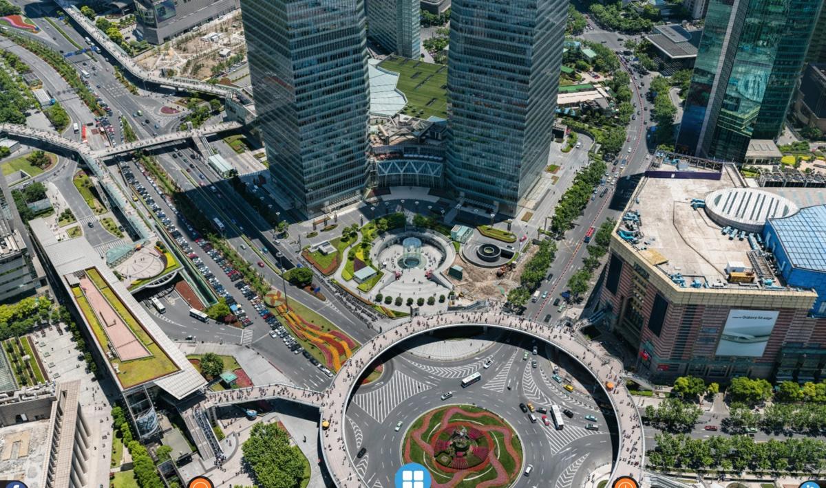 La cartolina di Shanghai è una super immagine da 195 miliardi di pixel