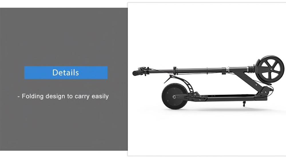 Sfreccia con lo scooter elettrico pieghevole in offerta a soli 150 euro