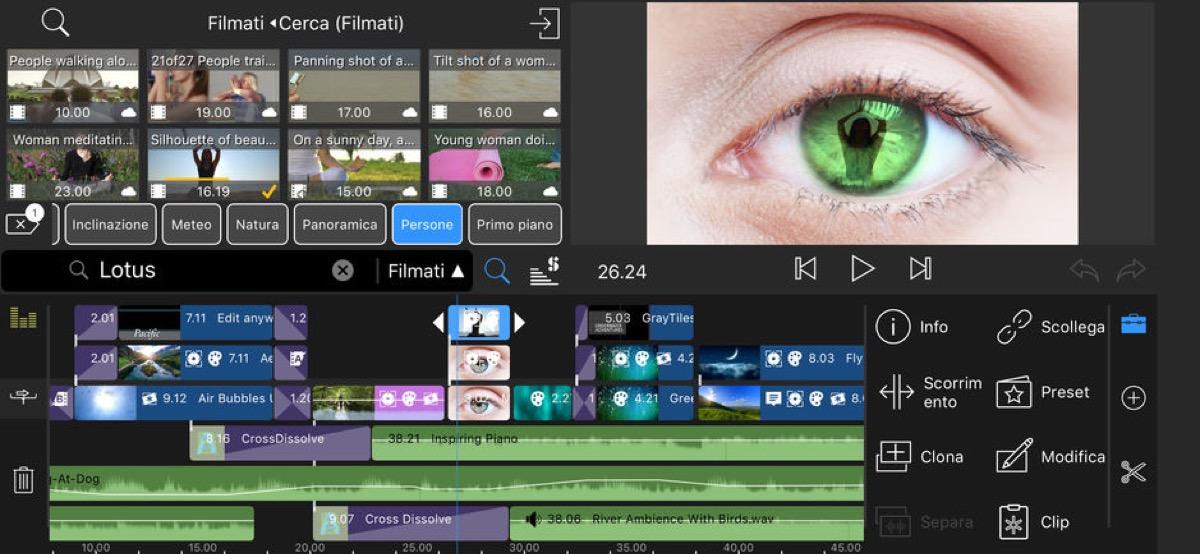 I migliori video editor per iPhone e iPad