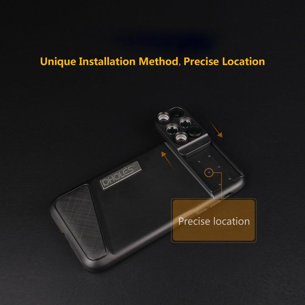 Docooler PHOLES X1, la cover fotografica con lenti per iPhone X