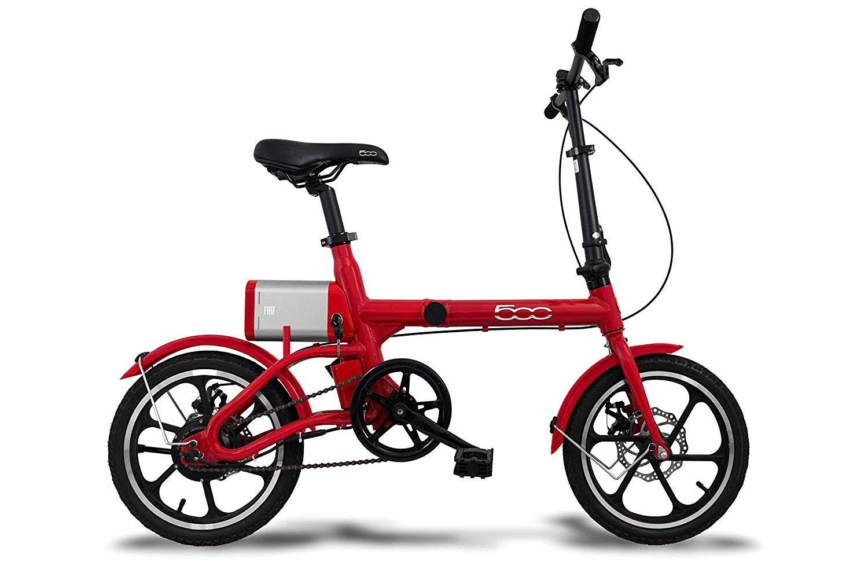 Fiat 500 F16, la bibi con pedalata assistita è in offerta lampo su Amazon