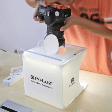 Alfawise PULUZ, il light box fotografico per immagini da catalogo