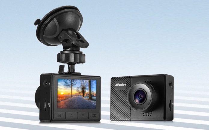 Alfawise G70, la dashcam con registrazione automatica in caso di incidente