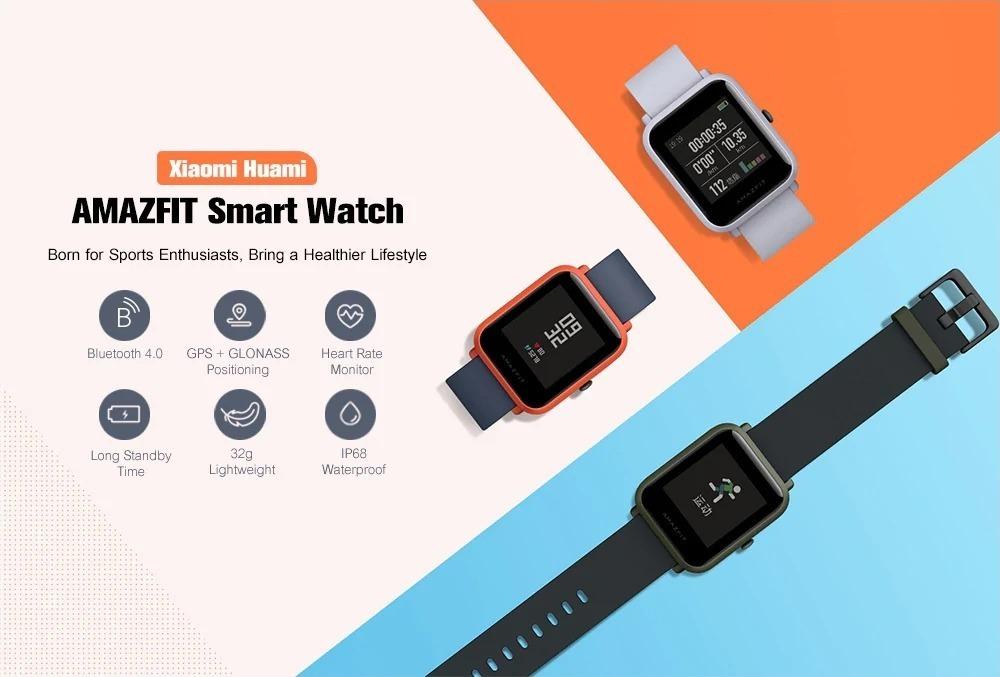 Xiaomi AMAZFIT Bip Lite, lo smartwatch in offerta a 64 euro con spedizione EU