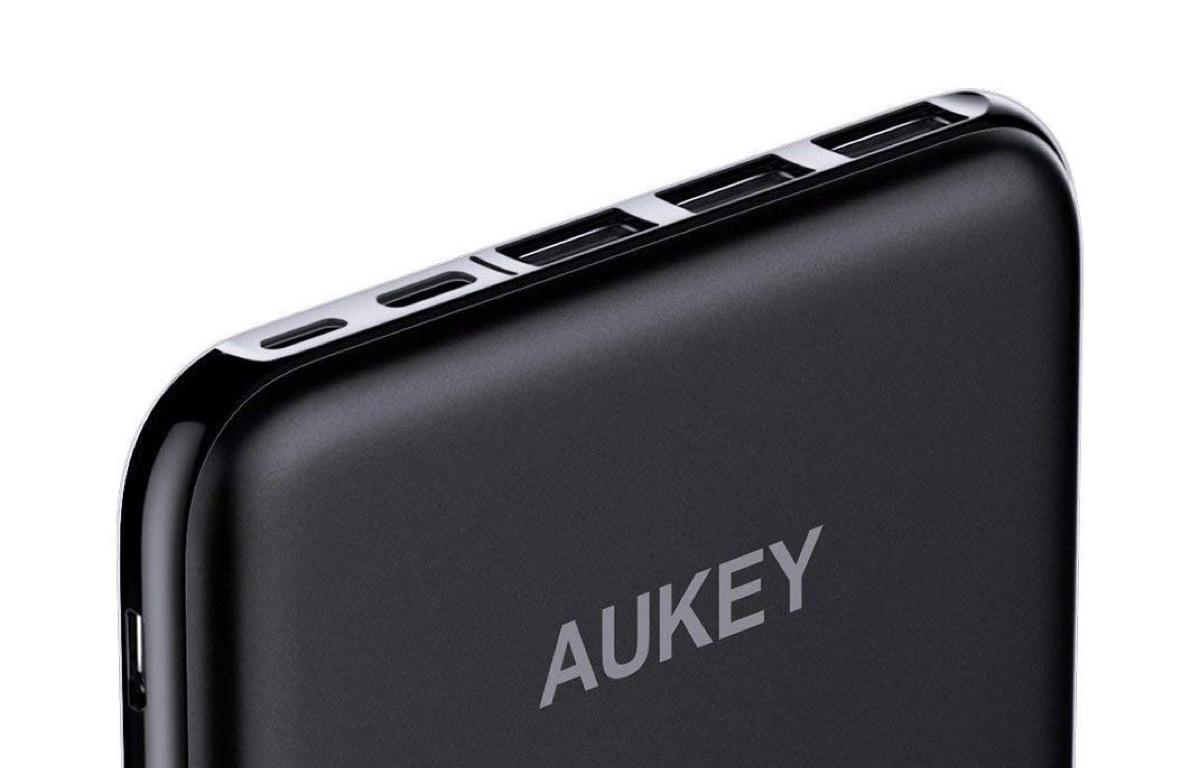 Powerbank Aukey da 20.000 mAh compatibile con tutti i dispositivi a soli 29,99 euro