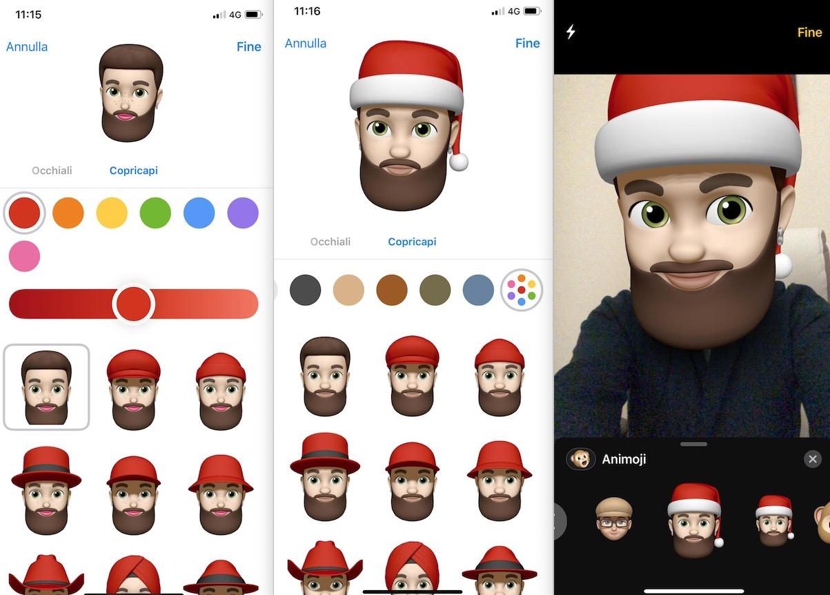 così economico valore eccezionale bellissimo stile Fate la vostra Memoji con il cappello di Babbo Natale