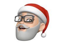 Fate la vostra Memoji con il cappello di Babbo Natale
