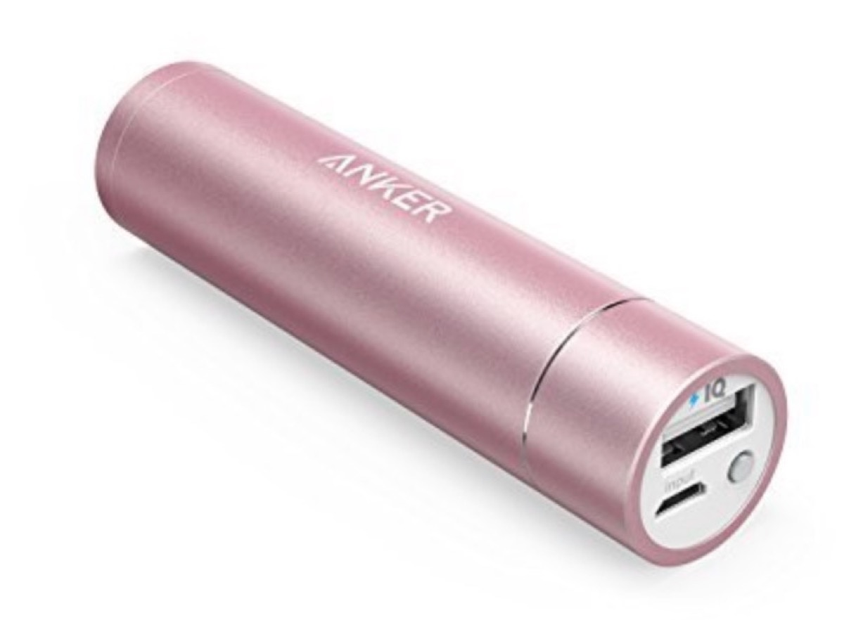 Powerbank a tubetto da 3.350 mAh in sconto a 13,99 euro