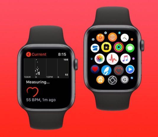 Misurare il battito cardiaco, con Apple Watch 4 la precisione è maggiore