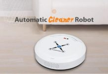 Mini aspirapolvere robot automatico per zone irraggiungibili a soli 26 euro